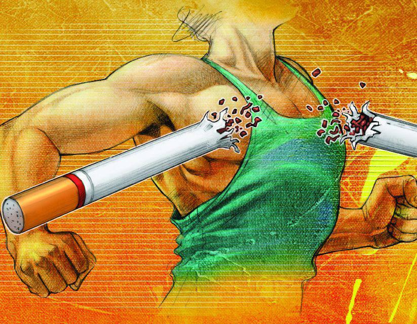 Quer (mesmo) parar de fumar? Correr ajuda e muito!